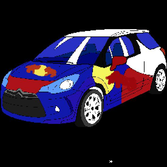 Free coloring pages of coches de rally for Coches para pintar