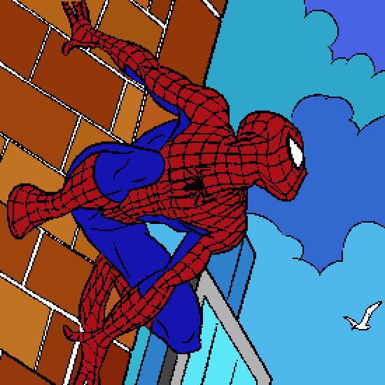 Un Color De Spiderman Hecho Por Gh